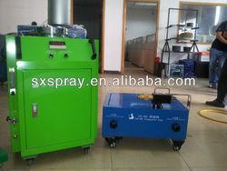 concrete floor coating(plasma spray machine,powder coating)