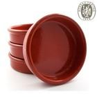 Hot Selling Handmade Tapa Dish Wholesale Glazed Terracotta Plate