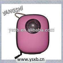 outdoor mini EVA speaker case for iphone/mp3/mp4