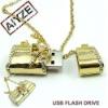 oem hot bowknot jewelry usb flash drives(paypal)