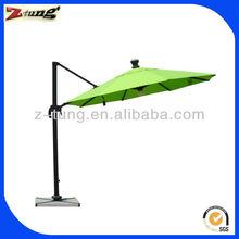 ZT-7007U solar&LED parasol 3 m umbrella