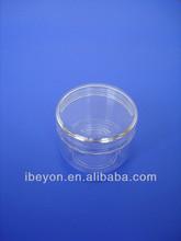 50ml plastic PS cosmetic cream jar