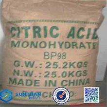 Acidulants acid citric monohydrat 99.5% min cấp thực phẩm