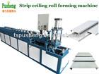 Metal strip ceiling making machine