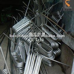 Gr2 Titanium Seamless Tube for heat exchanger