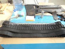 small rubber tracks/ rubber crawler