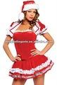 H4036 h4068 traje de navidad/traje de fiesta/vestido de lujo con sombrero