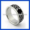 diseño de moda 2014 tpcr100 nudo celta anillo de ley