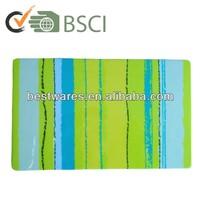 Popular design large plastic melamine food bread cutting board