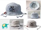 100% cotton soft Cute baby fashion cheap top bucket hats