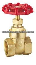 SS10102 Brass chain wheel gate valve