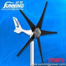 Sunning green energy dc generators for wind turbines