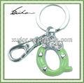 verde aleación alfabeto carta de diseño clave de la cadena