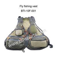 Unique design super light fishing vests