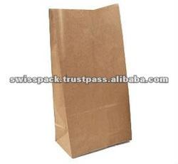 Block Bottom Kraft Paper packaging Bag