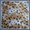 tela imprimida de terciopelo corto de diseño animal
