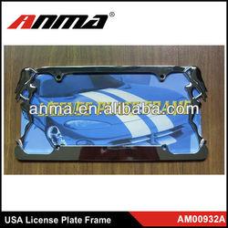 decorative stealth car license plate frames