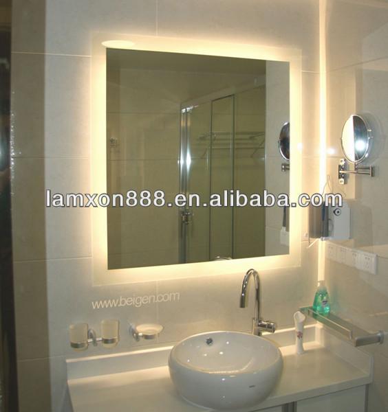 Led r tro clair miroir de salle de bains mirroir de for Miroir eclaire salle de bain