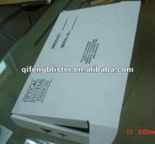 cheap wholesale die cut folding packing white carton paper box