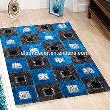 Modern design polyerster long pile floor carpets