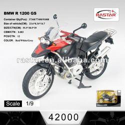 Rastar 1:9 BMW Licensed metal miniature motorcycle 42000