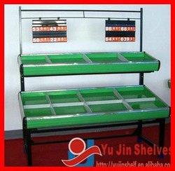 Double layers Metallic Fruit and Vegetable Rack
