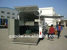 Horse Trailer with ALU awning Horse Float 3 Horse angle load