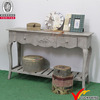 antique french style living room wooden console table