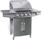 No lampblack, no pollution, eco-friendly gas grill With 4 Burners Stainless Steel BBQ Gas Grill A216S