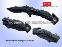 H1587 surviva best pocket knife