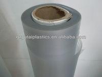 professional manufacturing Matte embossing PVC film / PVC film packaging material/ pvc film