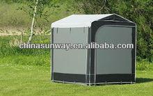 Motorcycle/Bike Shleter,Grey Waterproof Kicthen Tent,Outdoor Storage Tent