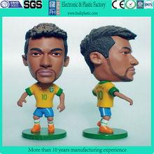 football plastic figure/plastic football player toys/plastic football player action figures