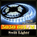 Elevada do lúmen 5050/3528 impermeável 12v diodo emissor de luz decorativa faixa de poços para o jardim