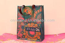 ladies printed non woven vintage handbags