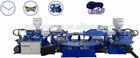 3 Colors PVC Upper Injection Machine for Slipper Upper