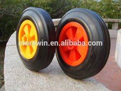 solid rubber wheel used in wheelbarrow