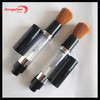 Refillable makeup powder brush,cosmetic powder dispenser brush,retractable powder brush refill