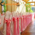 elegant satin chair sash for wedding,party,meeting decoration