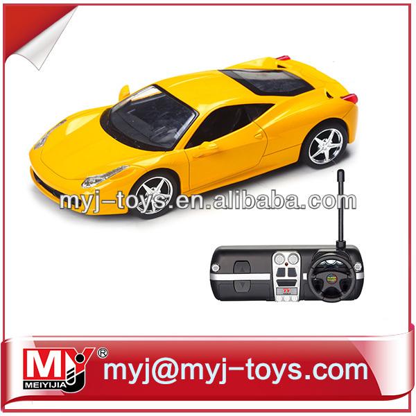 Top venta de 1:24 rc coche utilizando el material de metal mando a distancia de coche de deriva yk003431