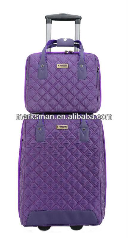 2 pcs travel luggage bag