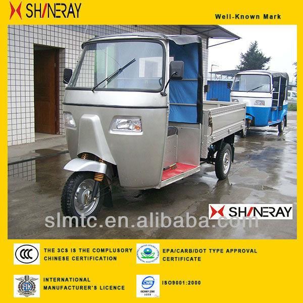 SHINERAY Driver Cabin Rickshaw Three Wheel Motorcycle