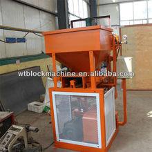 WT1-10 Soil and clay interlocking block making machine