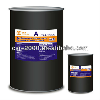 Two Components Silicone Sealant For Insulating Glass Assembly 9900