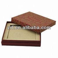 Professional Golden Foil Paper Hard Gift Boxes