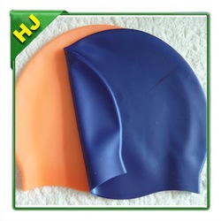 2014 new style printed silicone swim caps