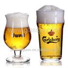 Machine made beer glass