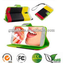 PU Leather Stand Wallet Case Cover For Samsung Galaxy S4 I9500