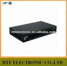 seamlessly OEM lay2 unmanaged 8p 10/100/1000M Metal case full half-duplex mini managed Ethernet Network fiber optic Switch