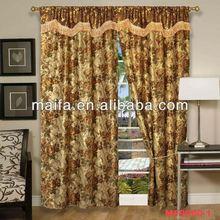 shaoxing fabric for waterproof bathroom window curtain